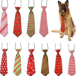 Große große Hunde Krawatten Krawatten Für Medium Big Pet Polyester Silk Dress Up Neck Tie Dog Grooming Supplies LX3513