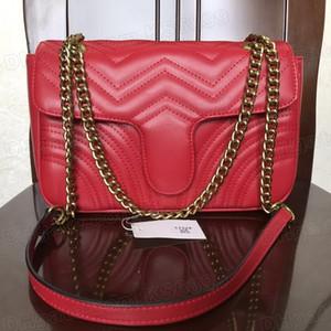 New Arrival Top Quality Women Shoulder Bags PU Leather Fashion Handbag Bag Ladies Chain Handbags Cross Body Pure Color Bag