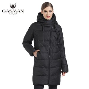 GASMAN Women Winter Jacket Long Winter Thick Coat Women Hooded Down Parka Warm Female Clothes Winter Plus Size 5XL 6XL 180 201028