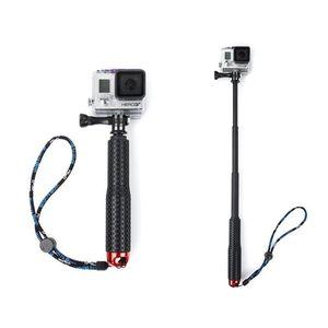 Selfie Stick 19cm-49cm Portable Handheld Extendable Selfie Stick for Hero 3 3+ 4 SJCAM SJ4000 Sports Cameras