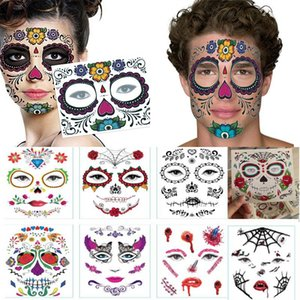 Disposable Eyeshadow Sticker Magic Eye Beauty Face Waterproof Temporary Tattoo Sticker For Makeup Stage Halloween Party Gift Dhl Wx9 -1510
