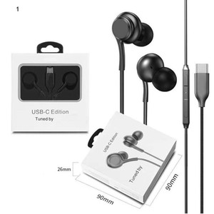 TYPE-C NOTE 10 earphone headphone With Remote and Mic headset for Samsung S10 NOTE 10 9 Smart chip Applicable type c with package
