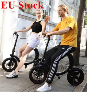 AB Stok Elektrikli Bisiklet Fren ve DIS Fren 14 Inç Katlanır Elektrikli Bisiklet Bisiklet Koltuk Ile Yetişkin Scooter Hızlı Teslimat için