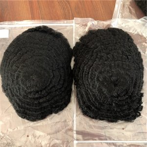 natural looking ultra thin skin Men Hair Wig Toupee human Hair Replacement System 100% human hair prosthesis for men synthetic