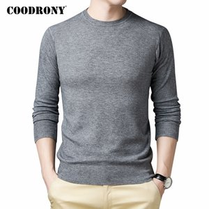 COODRONY Brand Sweater Men Clothing Autumn Winter Knitwear Soft Warm Pullover Men Pure Color Casual O-Neck Pull Homme C1151 201022