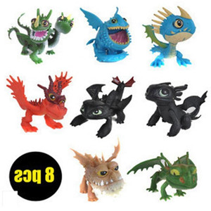 How to Train Your Dragon2 PVC Action Figures Toy Doll NightFury Toothless Dragon Toys Kid Child Party Favor
