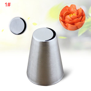 12 Styles DIY Cake Decorating Mold Tools Reusable Stainless Steel Pastry Nozzle Tip Food Grade Easy Cleaning Dessert Decorators DHD2678