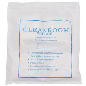 """9x9cm شاشة LCD لينة 4 """"X4"""" غرف الأبحاث ممسحة تنظيف غير القماش الغبار الغبار مجانا للفئة تنظيف غرف 400PCS / كيس"""