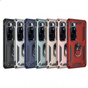 Pour Xiaomi Mi 10 Ultra Case antichocs Armure Support Support Voiture Anneau Téléphone Case pour redmi Note 9 Pro Max Remarque 8T Poco X2 Couverture arrière