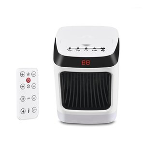 Smart Electric Heater Heater Versione a maniche lunghe per la stanza domestica Convettore Camino Camino Ventilatore Scaldino Silenzioso Plug1