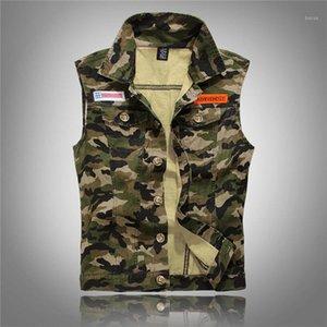 Popolare Han Edition Usura da uomo Camouflage Leisure Gilet uomo Gioventù Code Cowboy Gilet Tempo libero Trend Tank Top DJ8081