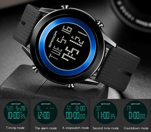 new sanda student electronic watch simple personality luminous LED watch multifunctional outdoor sports waterproof