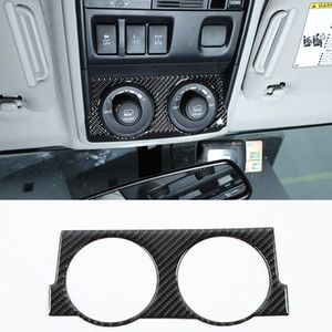 Carbon Fiber Car Four-wheel Drive Mode Switch Panel Sticker For Toyota 4Runner 2010 UP Car Interior Accessories