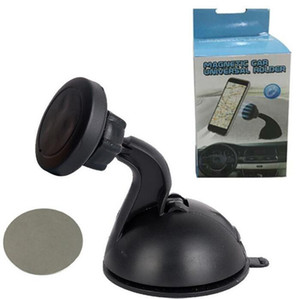 자기 자동차 전화 홀더 대시 보드 마운트 범용 휴대 전화 용 접착제로 자석 전화 지원 스탠드
