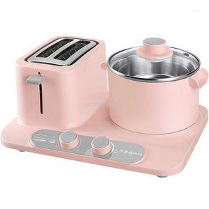 Neue 3in1 Frühstücksmaschine Brot Maschine Kaffee Röster Home Authentic Frühstücksmaschine Spiegeleier Dampferpfanne 220V1