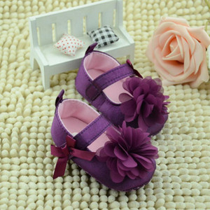 ARLONEET Baby Shoes Girl Boy Soft Cololrful Bowknot Flower Sole Walking Shoes Kids 2020 winter daily to wear warm
