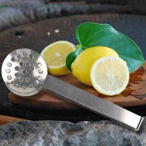 Tè dell'acciaio inossidabile Zucchero clip clip Tweezer Mini morsetto Tong Clips Caffè Ice Cube po 'di tè multifunzione da cucina Strumenti Bar BWF2945