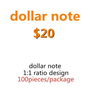 Prop Movie Counting Learning Game Toys Family Banknote Kids Special Money Wholesale Tool 20 Dollar 18 Bcuck