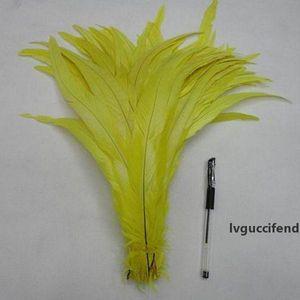 Black Coque Rooster Coda Piuma Gallo Coda piuma FAI DA TE Feather Accessori Gioielli Forniture per matrimoni Prestazioni 35-40CM Piume di pollo