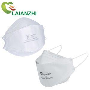 50 шт. Laianzhi YX011 FFP2 Рыба маска одноразовые лица маски для лица CE защитная маска гигиена спортивной респираторной маски