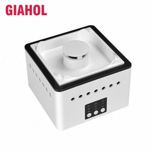 GIAHOL 8000mAH Battery Operated Ceramic Negative ion Ashtray Air Purifier With 4 Cigars Holder Ash Slot Remove Second Hand Smoke uTyv#