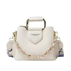 2020 Luxury Women's One-Shoulder Handbag PU Cuero Messenger Casual Fashion Classic Women's Bag Messenger Handbag C0125