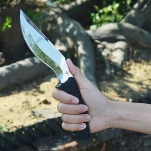 Dragon Iceblade 5.1inch D2 straight knife fixed blade knife Camping Survival Gift Knife Outdoor Tools Xmas Gift for man a2807