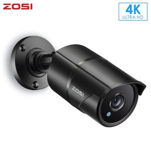 Cameras ZOSI 4K 8MP H.265 4mm TVI CMOS Sensor Surveillance Security Camera Night Waterproof Outdoor For CCTV DVR System Kit