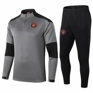 2020 2021 Football Jersey Manchester Training Uniform camisetas DE BRUYNEfútbol KUN AGUERO FODEN Football Jersey Men's Training Uniform Set