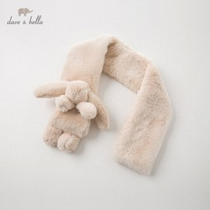 DB11902 dave bella winter unisex baby apricot scarf dECx#