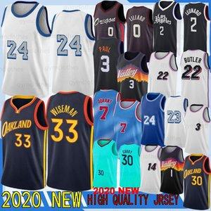 Dwayne23 Wade Herro Lillard Kawhi Kyrie Leonard Kevin Irving Durant Booker Butler Devin Paul Curry Wiseman 2021 Новый баскетбольный майки