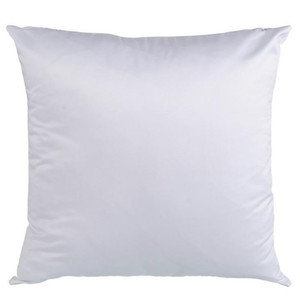 Sublimation Blank Pillowcase Heat Transfer Printing Pillow Covers OEM Cushion 40X40CM 45*45cm without core DLH380