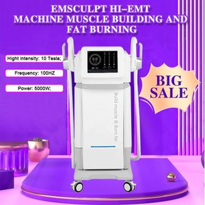 2021 hiemt sculpting EMslim HI-EMT machine EMS Muscle Stimulator electromagnetic fat burning shaping beauty equipment free logo