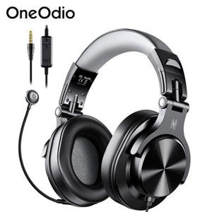 Headsets OneoDio A71D Gaming Headset Gamer PC 3.5mm Sobrecarregado Estéreo Fones de ouvido com fio com microfone plugável para / xbox / phone1