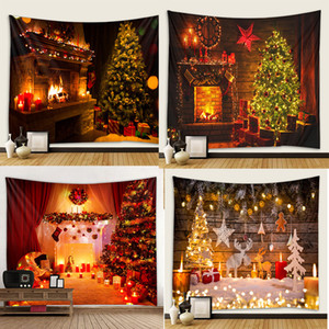 Diy Tapestry Wall Art Hanging Cloth Home Fireplace Tree New Decor Photography Kitchen Background Clothes Christmas 29lx3 K2