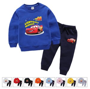 children designer Hoodies Sets girls 2-7T Kids Hoodies Pants 2Pcs set Baby Tracksuit Boy Girl Cotton Sets Autumn Sets