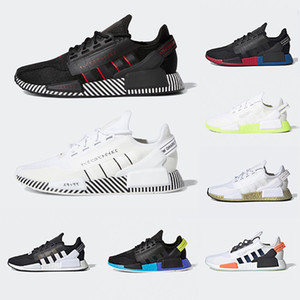 Adidas Black Nerd NMD XR1 R1 Hu Human Race Athletic Mens Running Shoes Pharrell Williams Oreo Men Women Mastermind japan Sports Designer Sneakers