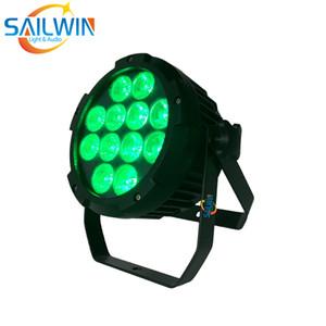 8X LOT IP65 Waterproof 12x18W 6in1 RGBAW + Bateria UV Desenvolvido sem fio APP Telefone Controle de LED Light Par DJ Stage LED UPLIGHT
