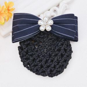 TQQmo Krankenschwester Kopfschmuck der Frauen Korean Friseurhandgemachte Stoff Hairpin-Zubehör Haar net send Netzwerk Netzwerk Kleidung accessorie senden