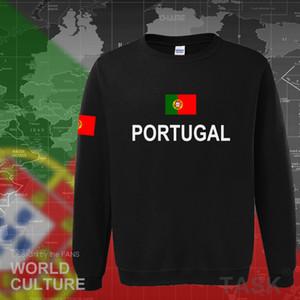 새로운 힙합 스트리트의 socceres 저지 축구 선수의 운동복 국가 포르투갈어 플래그 PTX1014 땀 셔츠 포르투갈 후드 남성