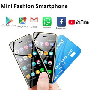 """Original Ulcool U2 3.15"""" mini touch android 8.1 mobile phone MTK6739 Quad Core LTE 4G smartphone Dual SIM cellphone unlocked Cell phones"""