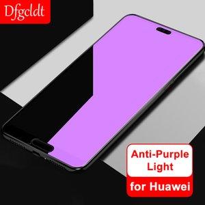 9H Hard Anti Purple Tempered Glass for Huawei Honor 9 Youth P20 Mate 10 Pro 20X Lite Nova 3 3i Enjoy 8e Magic 2 Screen Protector