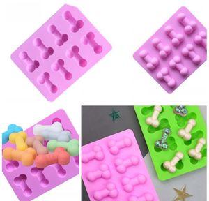 Özgünlük Şile Kalıp Buz Küp Kalıpları Komik Çikolata Kalıpları Tat Kek Dekorasyon Malzemeleri Yeşil DIY Yaz 2 9LD F2 BBYQAVY Ladyshome