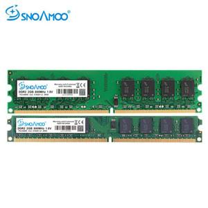 SNOAMOO New DDR2 2GB 800MHz 667MHz Memory PC2-5300 PC2-6400 240 Pin non-ECC Memory for Desktop PC Lifetime Warranty