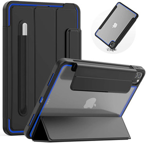 For iPad Pro 11 Case 2020 2018 Folio Kids Auto Sleep Wake Magnetic Smart Cover with Pencil Holder Case for iPad Pro 11