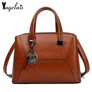 Single Straddle Shoulder Girdle Bag Pu Leather Pochette Female Messenger Ladies' Leisure Shopper Handbags For Three Colors
