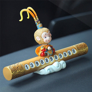 kongyide auto ornamenti della bambola Targa Shaking Arredamento testa di scimmia Ornamento auto dropship mar13 DDgn #