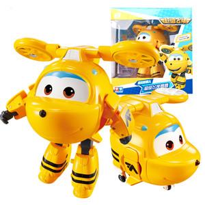 Большое !!! Новый! Крылья Деформация Самолет Робот действий Цифры Супер Wing Transformation игрушки для детей подарочные Brinquedos