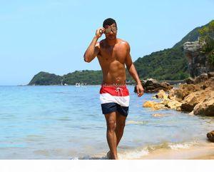 Fashion Board Shorts Mens Summer Beach Shorts PantsTop quality Swimwear Male Surf swimming Swim Quick-dry running Sport trunks beachwear