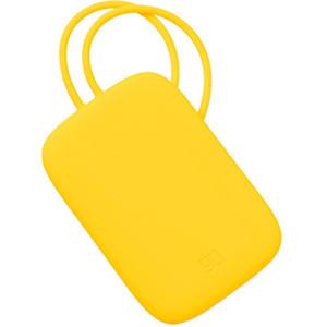NINETYGO 90FUN Colorful Silicone Baggage Tag Portable for Suitcase Luggage Bag Tag Anti-lost Writing Label Bag Parts Accessories